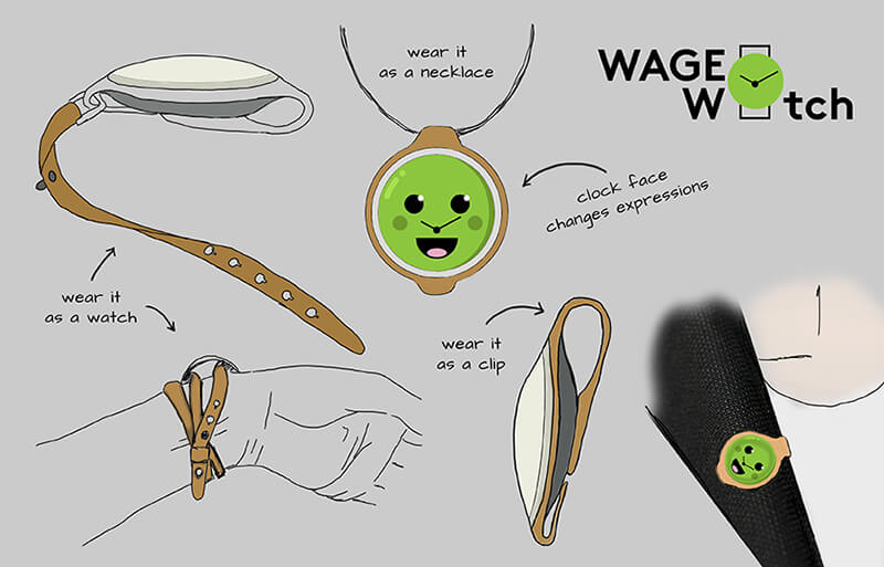 wage watch illustrations